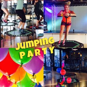 jumping party F.B